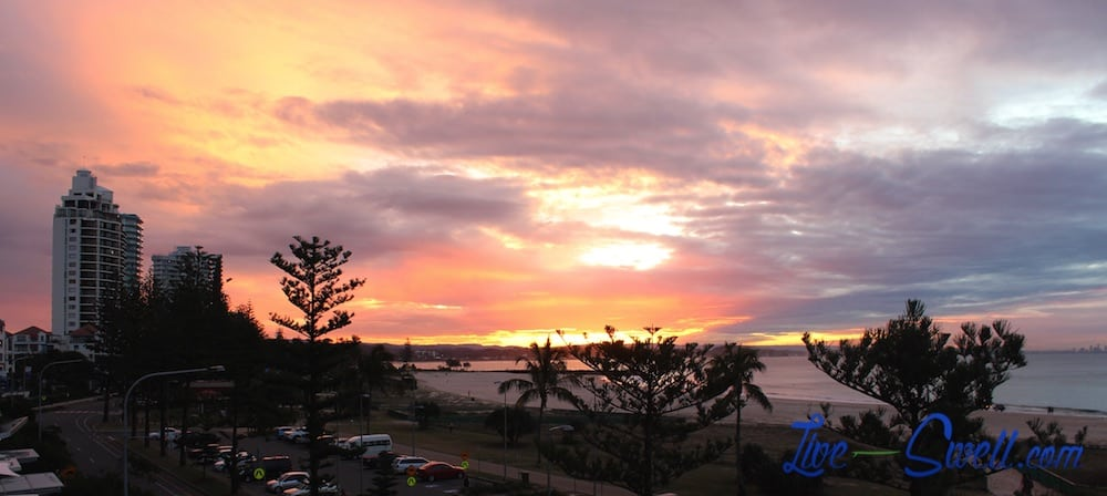 Fire in the Sky Coolangatta Live Swell Surf Trip-imp