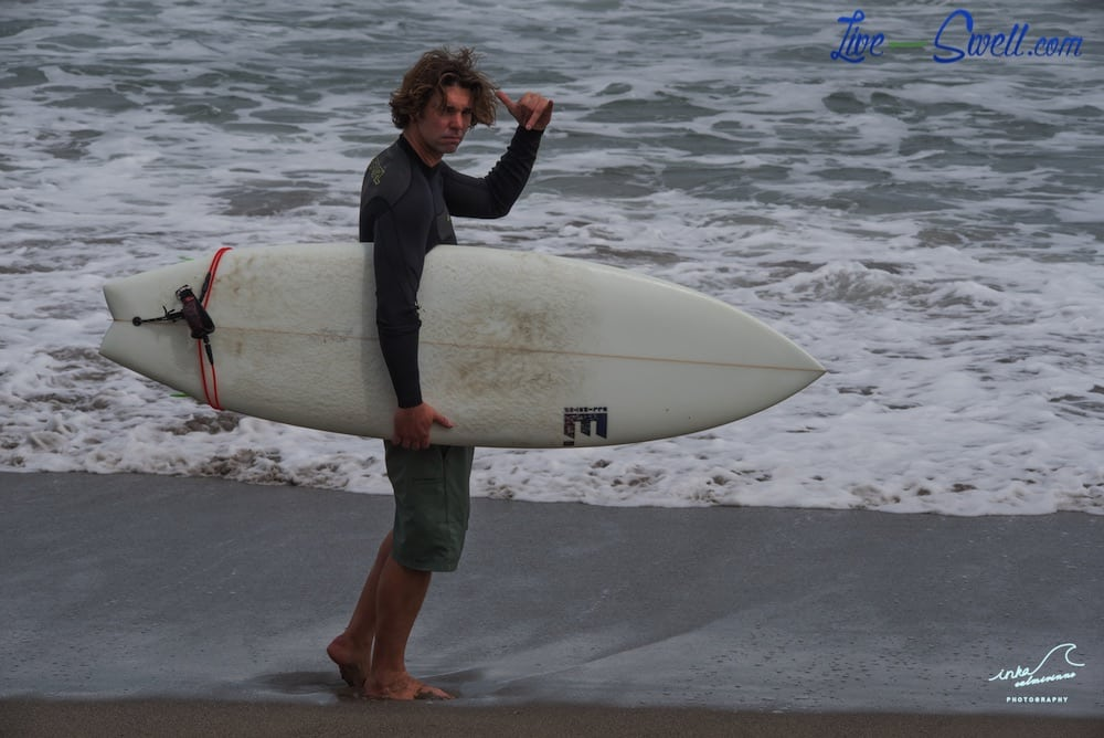 Michael in Berawa Surf Trip 07/10/2015