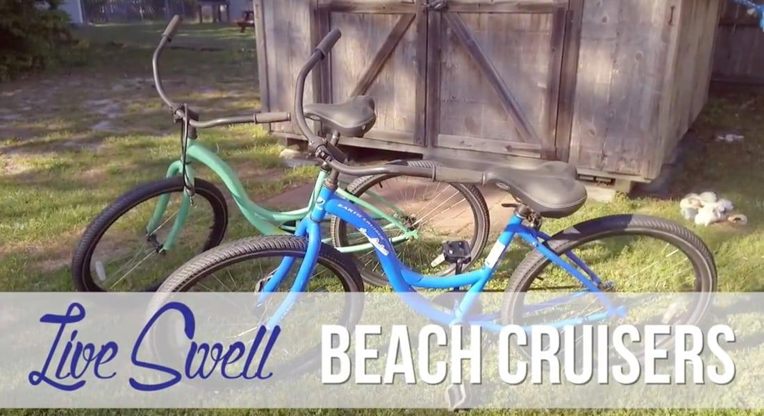 Live Swell beach cruisers