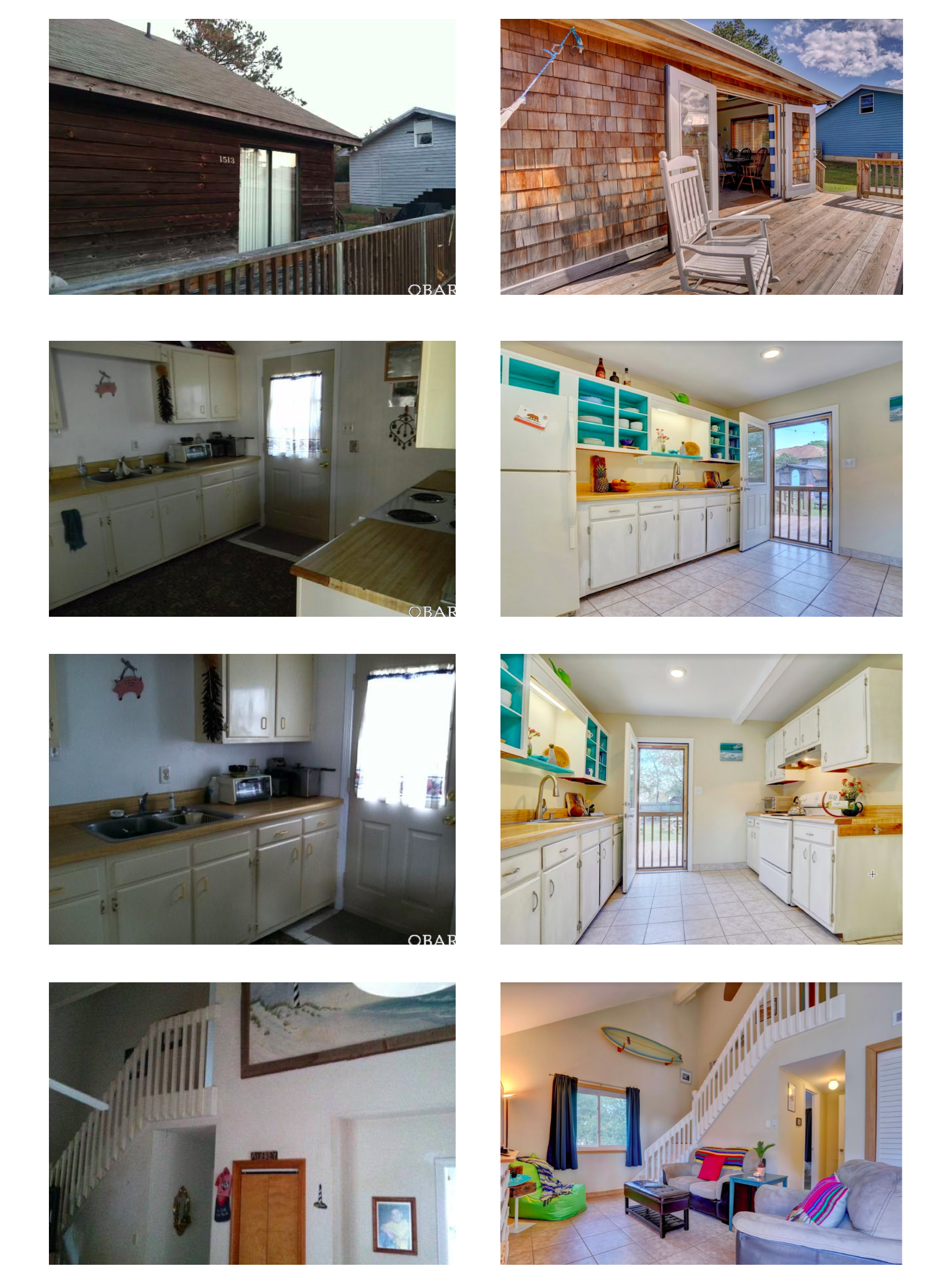 Chill Surf Bungalow 2 Beach House Renovations Before and After