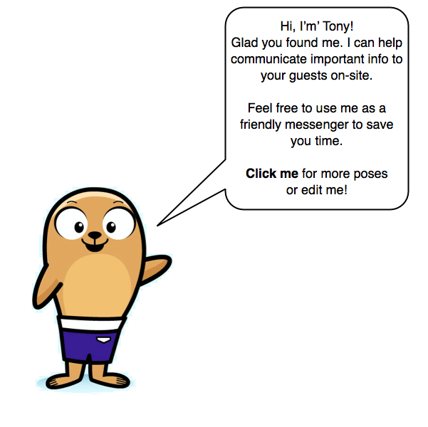 Tony Live Swell Mascot