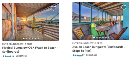 Vacation Rental and Airbnb Billboard Live Swell
