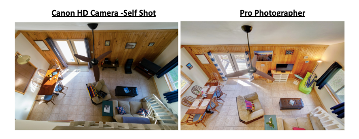 Vacation Rental Photographer vs Self Camera Live Swell