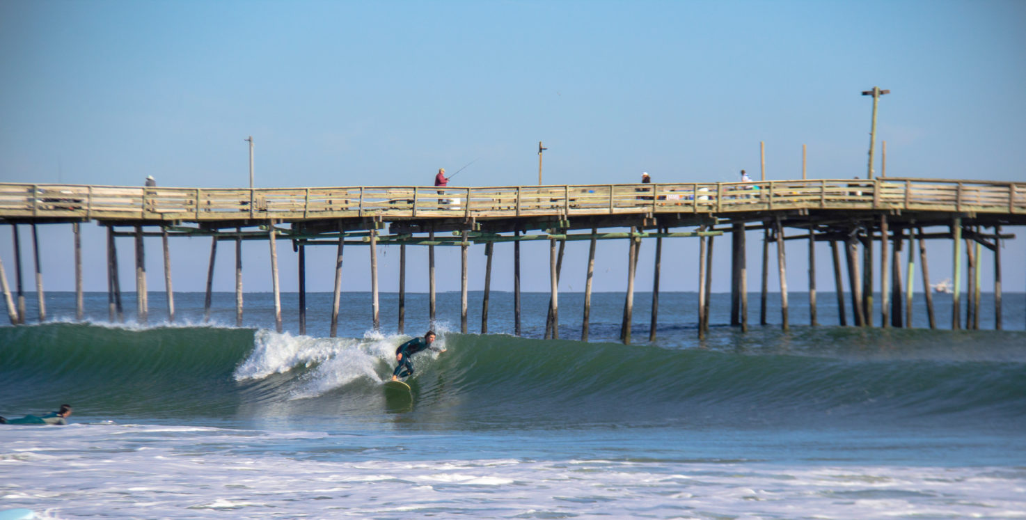 Live swell mike surf avalon pier obx