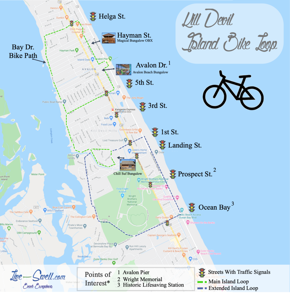 Best Kill Devil Hills Bike Trails Island Loop