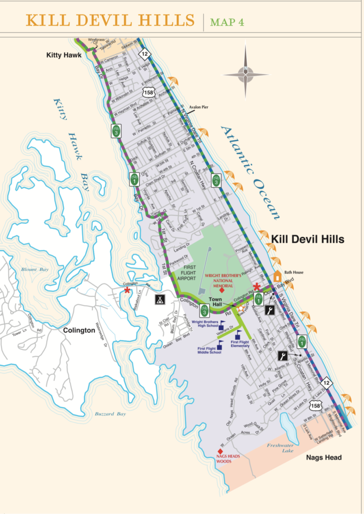 Kill Devil Hills Bike Trails Island Loop