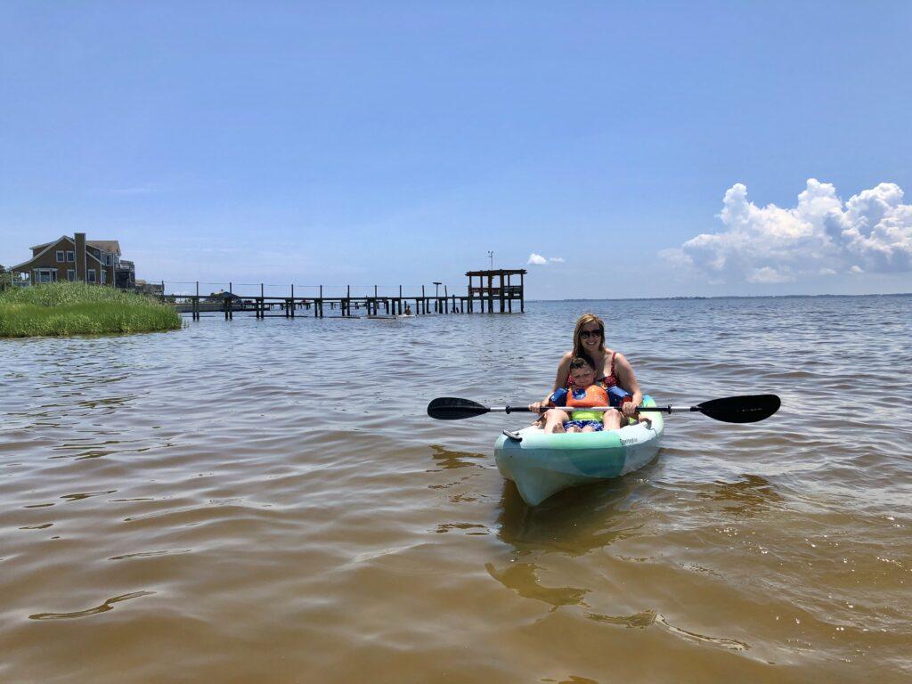 obx coastal kayak tours
