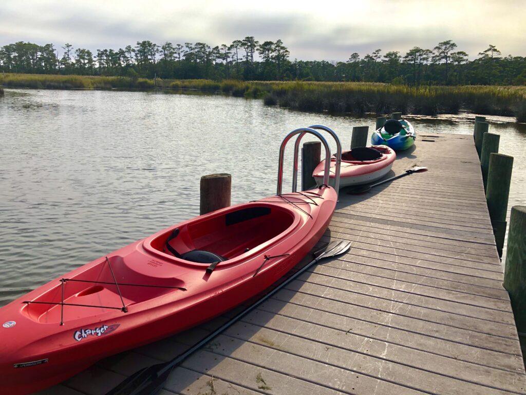 kitty hawk preserve coastal kayak tour