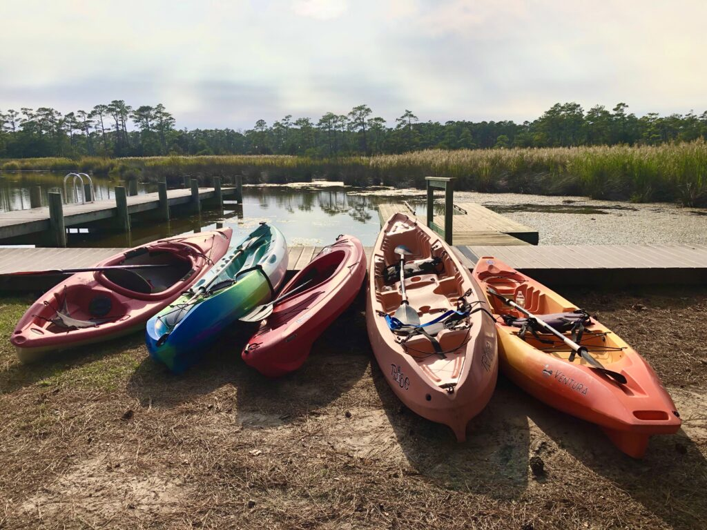 Obx coastal kayak tour